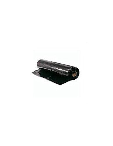 Jardin202 - Plastico Negro de 700 galgas- Ancho 6M - Metro Lineal