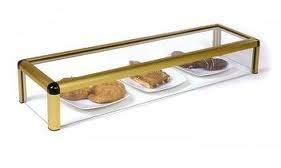 Vitrina expositora alimentos, ideal barra bar para los aperitivos , largo 1200 mm.