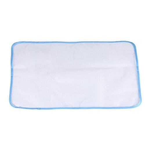 Ohomr Planchado Scorch Tela de Malla de Tela Pulsando Pad para Fácil Planchado de Alta Temperatura Protección al Azar del Color 30x50cm