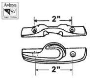 Window Parts - Sliding Window Sweep & Sash Locks 750-1630029