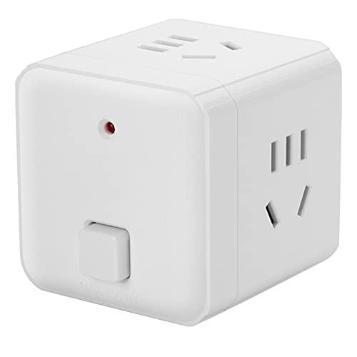 Regletas Eléctricas Zócalo de Cubo USB Enchufe Tridimensional Inteligente multipropósito de Carga rápida Tablero enchufable Vertical Creativo con línea,A,5.8 * 5.8 * 5.8