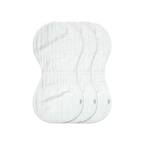 Product Image of the green sprouts Muslin Burp Cloths made from Organic Cotton | 4 absorbent layers...