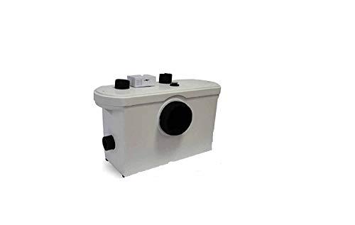 Hebeanlage Abwasserpumpe Pumpe Kleinhebeanlage Fäkalien WC Sanitär 600 W Campingtoilette Schmutzwasserpumpe Haushaltspumpe Fäkalienhebeanlage