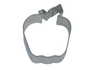 R&M Apple 4' Cookie Cutter in Durable, Economical, Tinplated Steel
