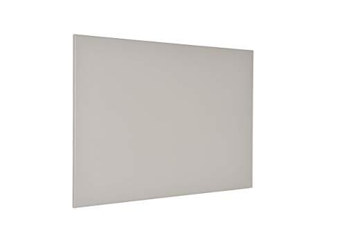 Warmset Riscaldamento a Pannello radiante Elettrico ad infrarossi in Metallo - Termoarredo di Design - (Grigio)