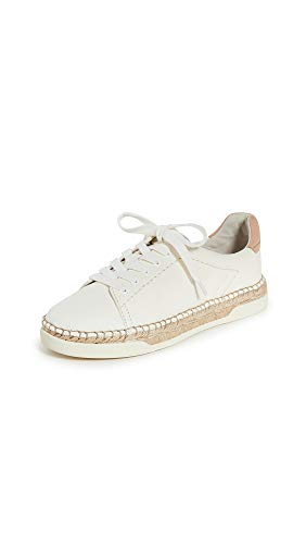 Dolce Vita Women's Madox Sneakers, White, 11 Medium US