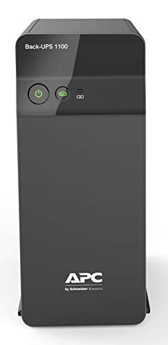 APC Back-UPS BX1100C-IN UPS System, An ideal Power Backup & Protection for Home Office, Desktop PC & Home Electronics