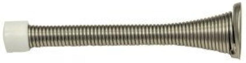 Heavy Duty Spring Door Stops Box of 10-3-3//4 Satin Nickel