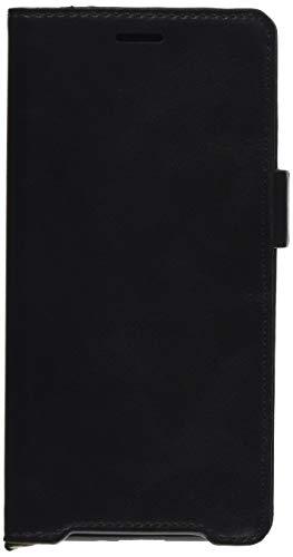 エレコム Xperia XZ2 ケース SO-03K / SOV37 手帳型 ソフトレザーマグネットフラップ 耐衝撃TPU素材採用 ブラック PM-XZ2PLFYBK