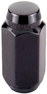 McGard 64024 Chrome/Black Cone Seat Style Lug Nut Set (M14 x 1.5 Thread Size) - Set of 4