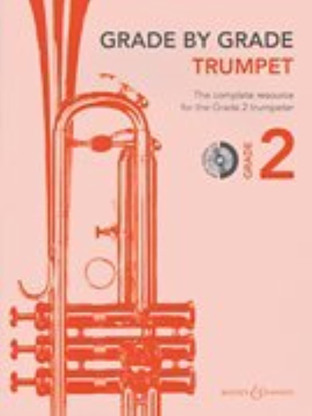 Grade by Grade - Trumpet (Grade 2): With CDs of Performances and Accompaniments