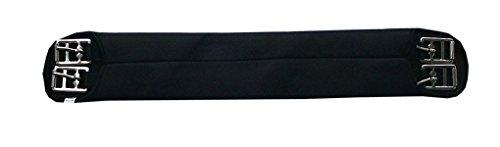 Amesbichler AMKA Soft Sattelgurt, Langgurt schwarz Neopren Sattelgurt