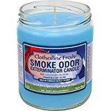 Smoke Odor Exterminator 13oz Jar Candles (Clothesline Fresh, 2)