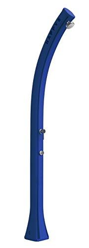 Arkema F560/5012 Happy Beach Douche solaire en polyéthylène HD Résiste aux rayons UV et au calcaire Pour environnements marins venteux, capacité 28 litres, poids 9 kg, hauteur 217 cm avec mitigeur temporisé sans lave-pieds