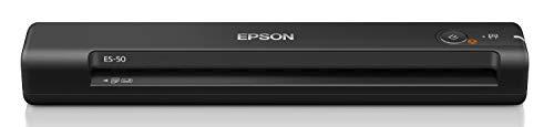 エプソン スキャナー ES-50 (モバイル A4 USB対応 ブラック)