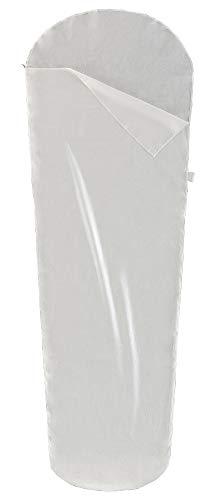 Ferrino Travel Mummy, Sacco Lenzuolo Bianco, 220x80x50 cm