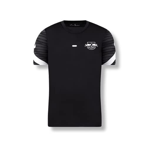 RB Leipzig Nike Youth - Camiseta de entrenamiento (21/22), Negro , 12-13 Años