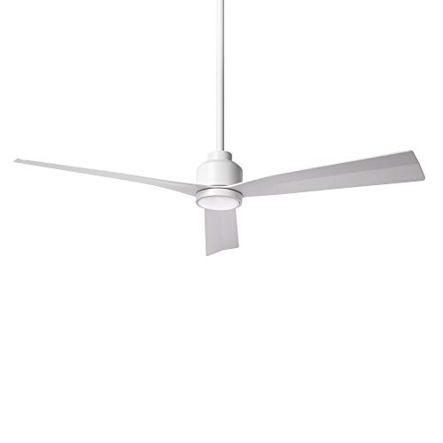 Clean Indoor/Outdoor 3-Blade Smart Compatible Ceiling Fan...