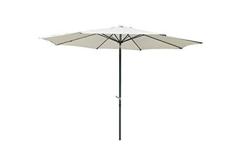 Chillvert KCH210 -  Parasol Jardín Aluminio Venecia 300x300x235 cm