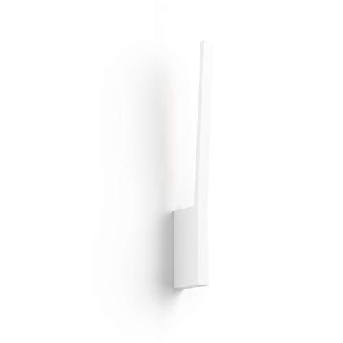 Philips Lighting Hue Liane White and Color Ambiance Lampada da Parete LED Connessa, con Bluetooth, 12 W, Bianco