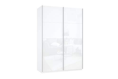 Prime 2020 Schwebetürenschrank mit kompletter Glasfront 140x210 cm
