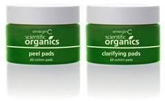 EmerginC Scientific Organics At-Home Facial Peel + Clarifying Kit 2 x 60 Pads by EmerginC
