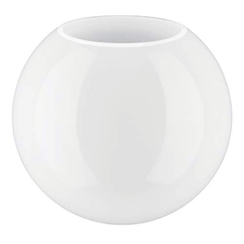 Glazen Clip-on No Neck (Ronde) Bol Lampenkap voor plafond / wand / vloerlamp, 20 cm diameter (8