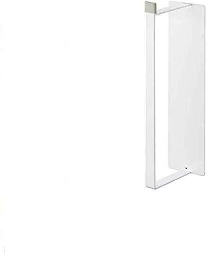 FRFJY Waschmaschine Side-Hanging Rack, Wäscheständer Aufbewahrung und Veredelung Werkzeugen, Badezimmer Aufbewahrung Rack - White— S