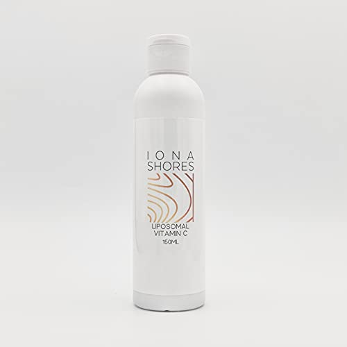 Iona Shores - Liposomal Vitamin C 1000mg per Serving - Vegan, Soy Free, Natural Ingredients - High Absorption Immunity, Skin & Collagen Support - 30 Servings