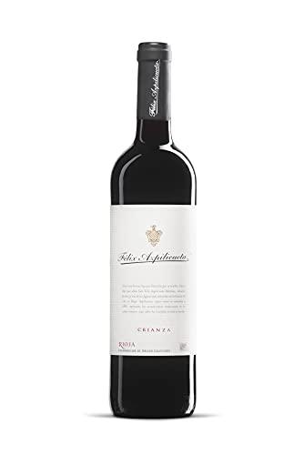 Félix Azpilicueta Crianza Caja de madera Premium 3 botellas D.O.Ca Rioja Vino - 750 ml