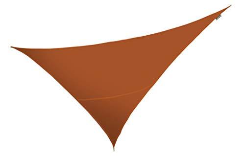 Tenda a vela Kookaburra impermeabile di colore terracotta - 4.2mt x 4.2mt x 6.0mt Triangolo rettangolo
