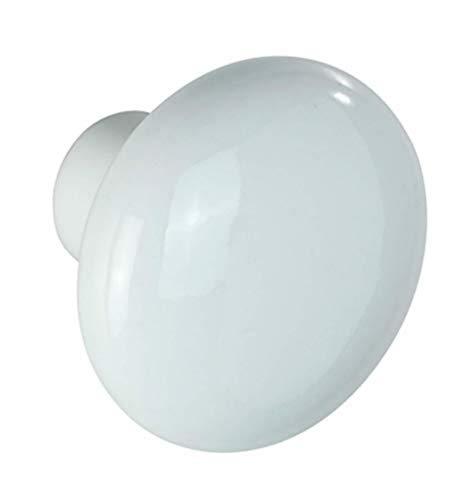 WENKO Colgador Arles blanco - Toallero, 6 x 5 x 6 cm, Blanco