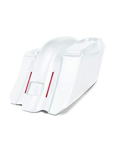 Great Price! Harley Davidson 6 down and 9 out angle saddlebags and Replacement LED fender for 09-1...