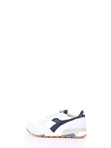 Diadora 201.176281 Sneakers Uomo White Blu 42