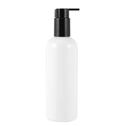 HEALLILY 10 Unidades de Botellas de Loción de Plástico de 300Ml Vacías Botella Dispensadora de Bomba Transparente a Prueba de Fugas Contenedor de Líquido de Champú Rellenable para Cremas