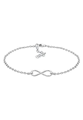 Elli Armband Damen mit Infinity Unendlichkeits-Symbol in 925 Sterling Silber