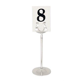 20 Restauration p343 numéro de table de support, en acier inoxydable