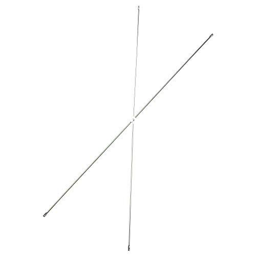 SIU Croix galvanisée, Taille assemblée : Longueur 100 cm, Taille du Colis et Longueur du Poids : 102 cm, Largeur : 2 cm, Hauteur : 1 cm, Poids : 0,21 kg, matériaux en Acier, galvanisé.