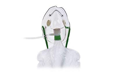 Hudson RCI 1060 Non-Rebreathing Masks Without Safety Vent, Adult (Pack of 50)