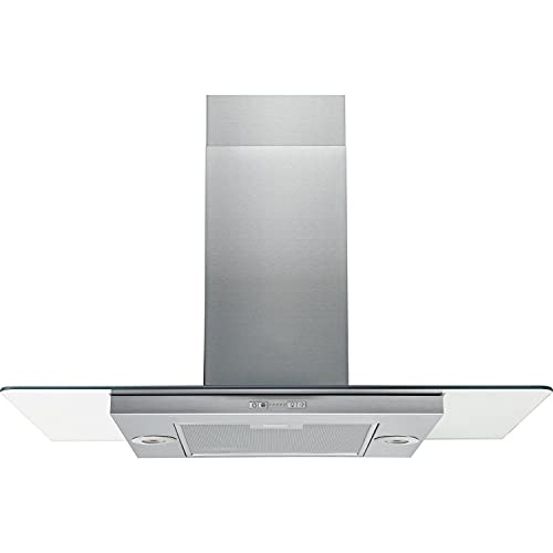 Hotpoint UIF 9.3F LB X Island Mount Cooker Hood Stainless Steel