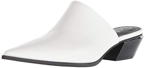 Calvin Klein Women's NAFESE Pump, White, 9.5 M US