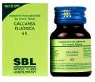 SBL Calcarea Fluorica Biochemic Tablet 6X
