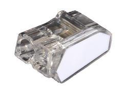 ViD® - Boite 100 Mini Bornes de Connexion 2 Entrées C2473
