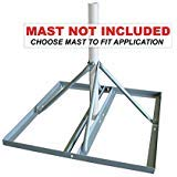 Solid Signal SKY32816 Non-penetrating Roof Mount...