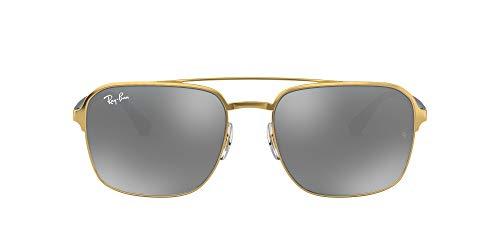 Ray-Ban 3570 Gafas de sol, Gold, 58 Unisex-Adulto