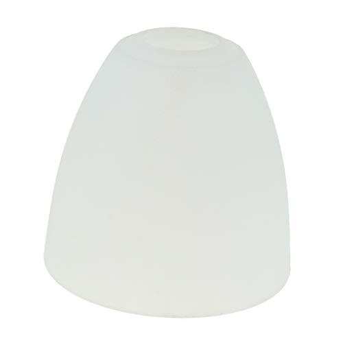 FLAMEER Ersatzglas Lampenglas Leuchtenglas E27 Lampe Leuchte Lampenschirm Ersatzschirm Weiß - Typ 4
