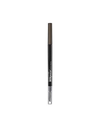 Maybelline Brow Micro Pencil Lápiz de Cejas, 04 Deep Brown Cejas Morenas