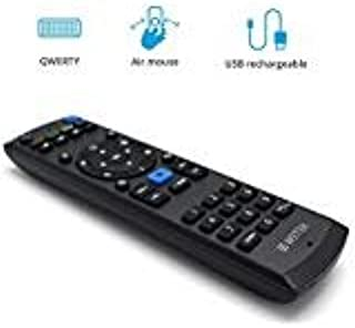 WeTek Pro Remote - Universal Remote with QWERTY Keyboard and Air Mouse 3.5mm Audio Jack USB Rechargeable