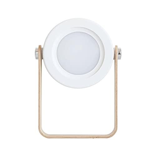 Lámpara de Linterna portátil USB de Lectura Regulable táctil Plegable de luz de Noche LED Blanco 142 * 37 * 248 mm