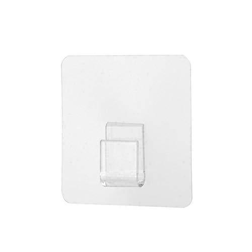 Gancho Autoadhesivo Transparente Fuerte, 10pcs Impermeable Y Resistente Al Aceite, FáCil De Usar, Utilizado En BañOs, Dormitorios Y Cocinas Para Muchos PropóSitos.